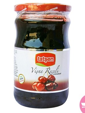 Tatsen Vişne Receli (Sourchery Jam) 850 g