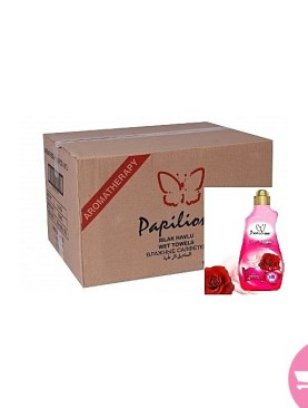 Papilion bundle of 9 concentrated softener - Rose 1.5 Liter