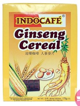 IndoCafe Ginseng Cereal