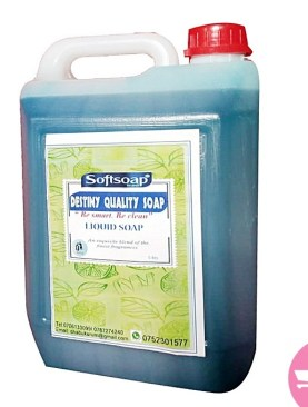 soft liquid soap -5litres