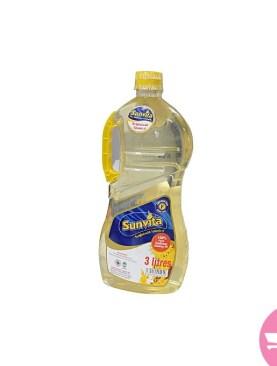 Sunvita Sunflower Oil - 3Ltr