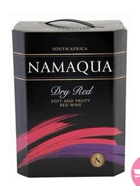 Namaqua red wine - 5L