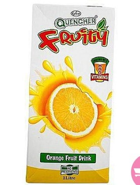 Quencher fruity orange Juice 1Ltr