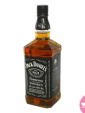 1 Litre Jack Daniels Tennessee Whiskey