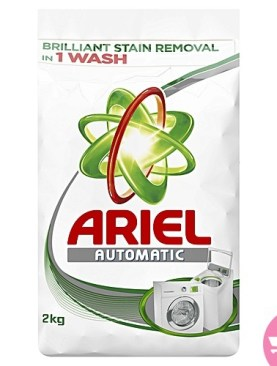 Aerial detergent powder