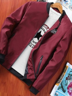Men's nice jackets -Red