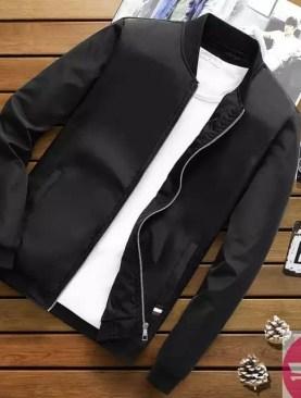 Men's casual jackets -Black