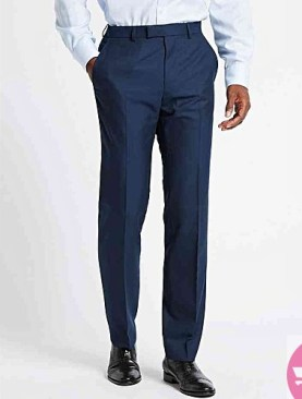 navy blue formal trousers