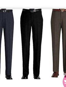 3 Men's formal trousers