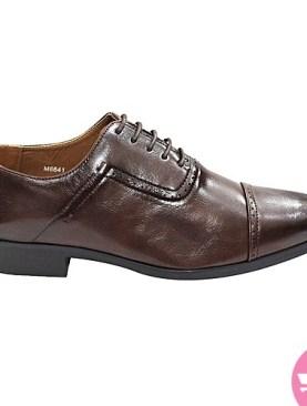 Men's tassel gentle shoes- dark brown