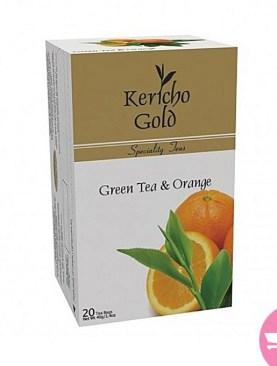 Kericho gold green tea & Orange 20'S X 2g
