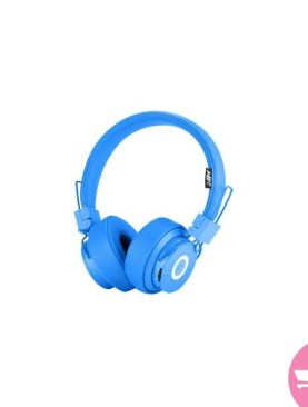 SHARE THIS PRODUCT NIA X6 Wireless Bluetooth Headphones with Mic Stereo Bluetooth Headset Support TF Card FM Radio Sport Earphone -in Bluetooth Earphones & Headphones - Blue