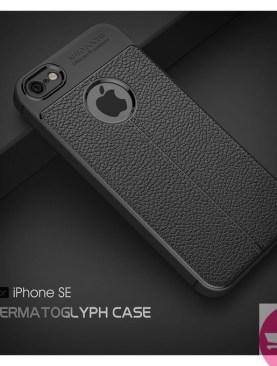 Auto Focus Soft Flexible Back Cover for iPhone 5,5s,5SE- Black