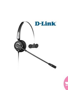 D-Link DPH-100 - Reception Operator Headsets - Black