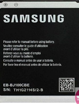 Original Samsung Battery EB-BJ100CBE/EB-BJ100CBZ for Samsung Galaxy J1, Galaxy J1 4G, Galaxy J1 Duos, SM-J100 in non-retail Packaging