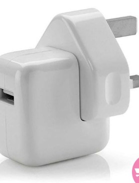 0w USB Power Adapter of iPhone - White