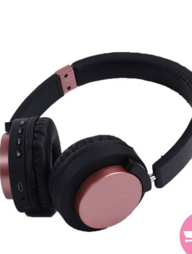 Super-Bass Headphones (SY- BT1603) - Maroon, Black