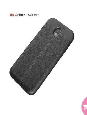 Samsung J7pro Auto Focus Back Case - Black