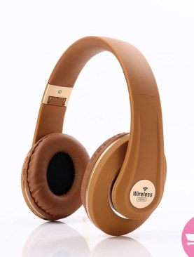 KD40 Headphone Wireless BT for Home Theater Mobile Phone Computer - Brown