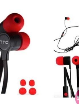 Genuine HTC Handsfree Earphones Headphones One X Wildfire S Desire HD One S HD 2 - Black,Red