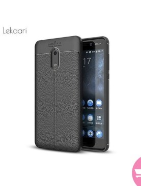 Silicone Phone Case For Nokia 3 - Black