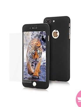 360 Cover For iPhone 7 Plus - Black