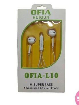 Ofia L10 Super Bass Earphones