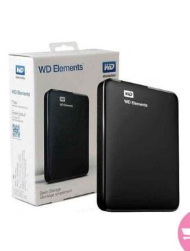 1TB External Hard Disk - Black