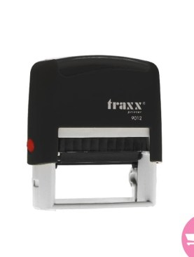 Traxx Printers 9012 Self-inking text stamp 48×18 mm - Black