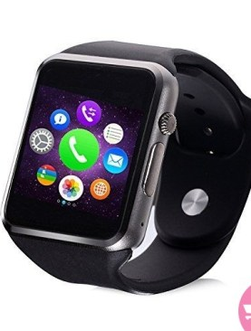 Dubai Bazaar A1 Smart Watch - Black