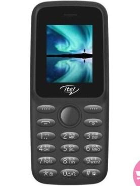 Itel 2163 1.77 Inches, Phone - Black