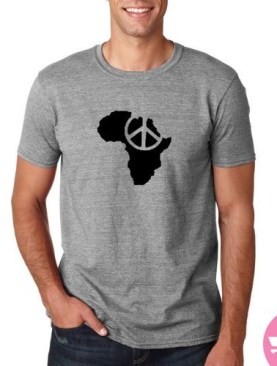 African unity and progress t-shirt-Grey.