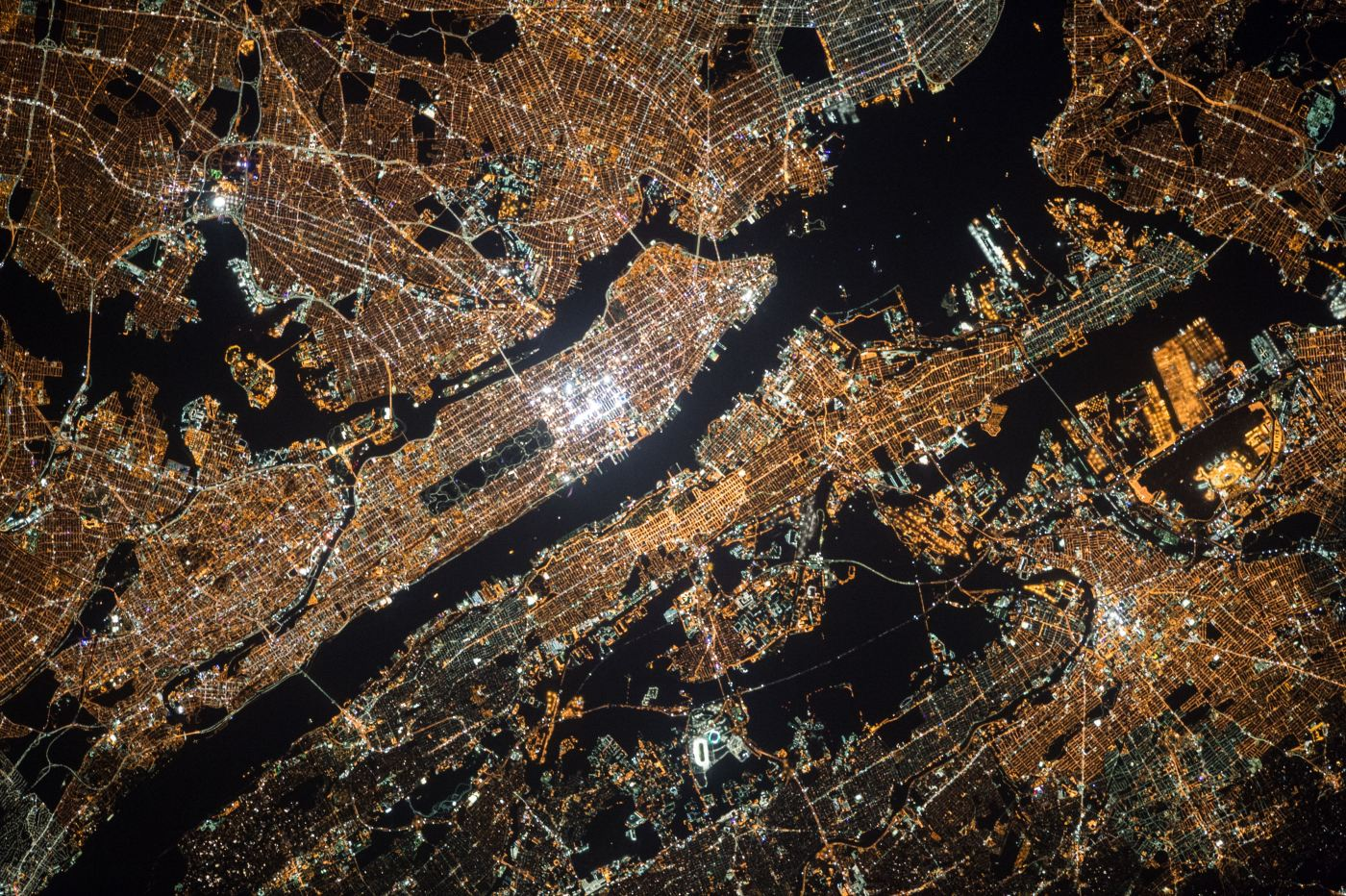 NASA - Manhattan from space