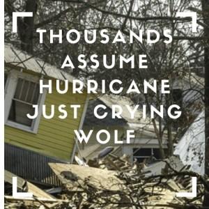hurricane warning ignored