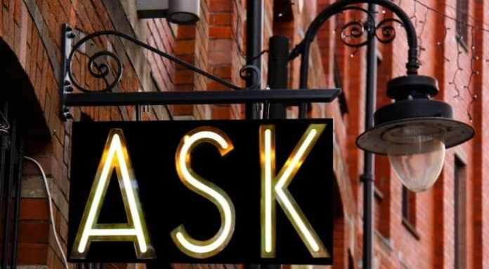 Ask questions during the interview