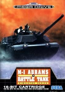 Jaquette de M1 Abrams Battle Tank Mega Drive