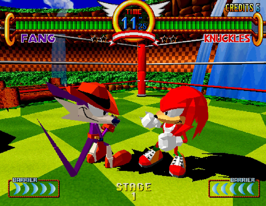 Image result for Sonic the Fighters