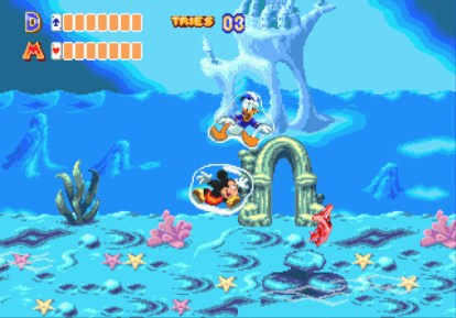 Image result for World of Illusion Starring Mickey Mouse and Donald Duck