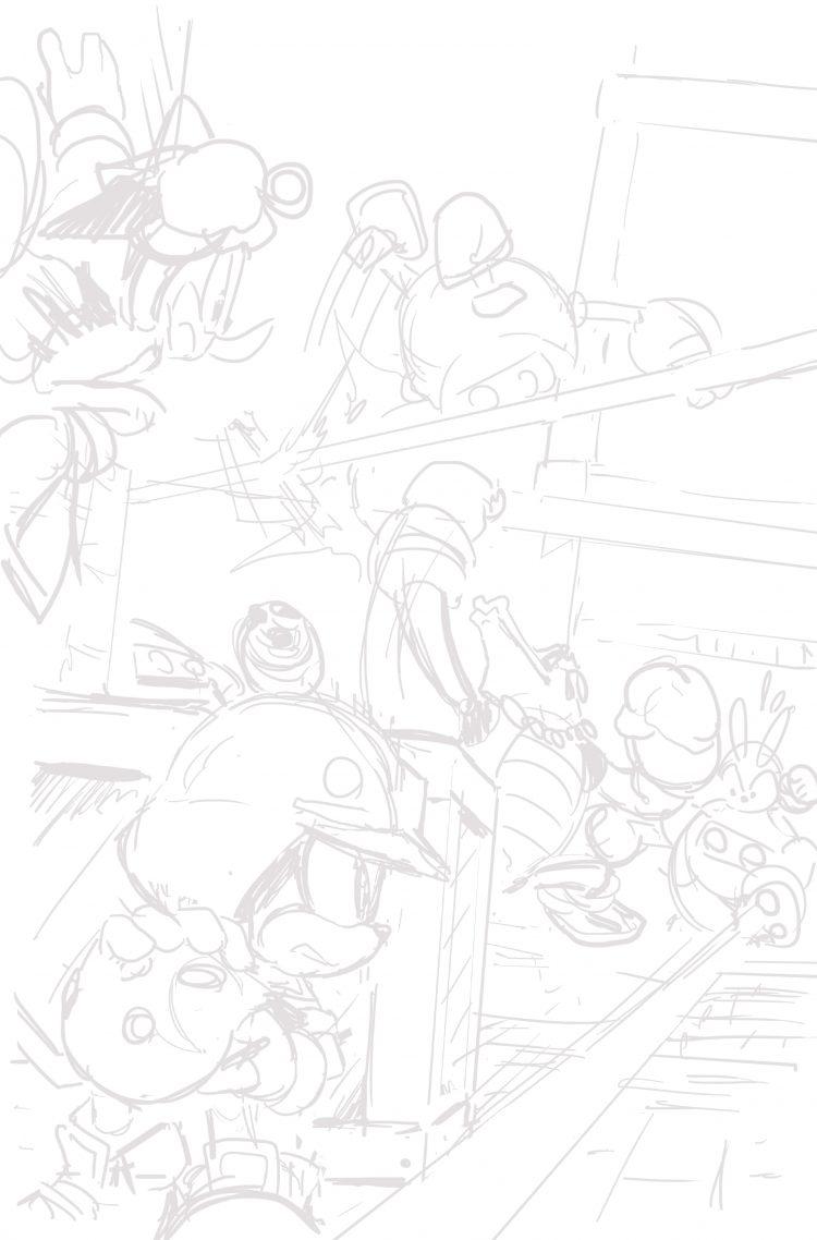 Sonic Forces prequel comic PDF contains hidden art