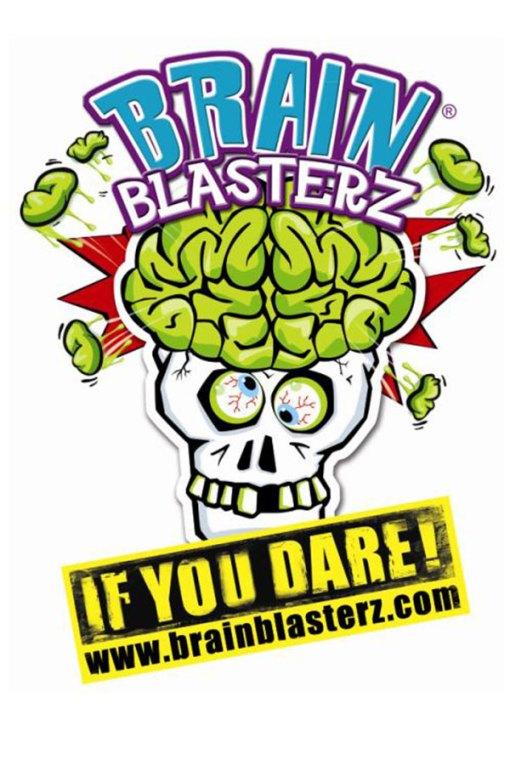 Brain Blasterz Mega Sour Hard Candy
