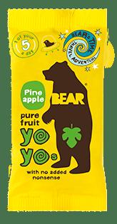 Bear Nibbles Pineapple YOYO