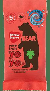 Bear Nibbles Strawberry YOYO