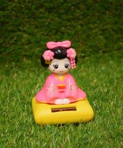 Geisha Rosa - Solcellsdriven