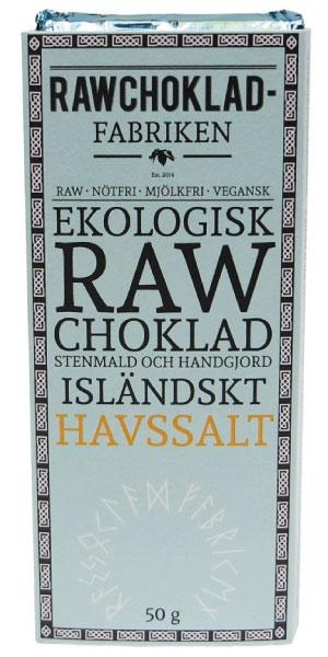 Rawchokladfabriken Isländskt havssalt