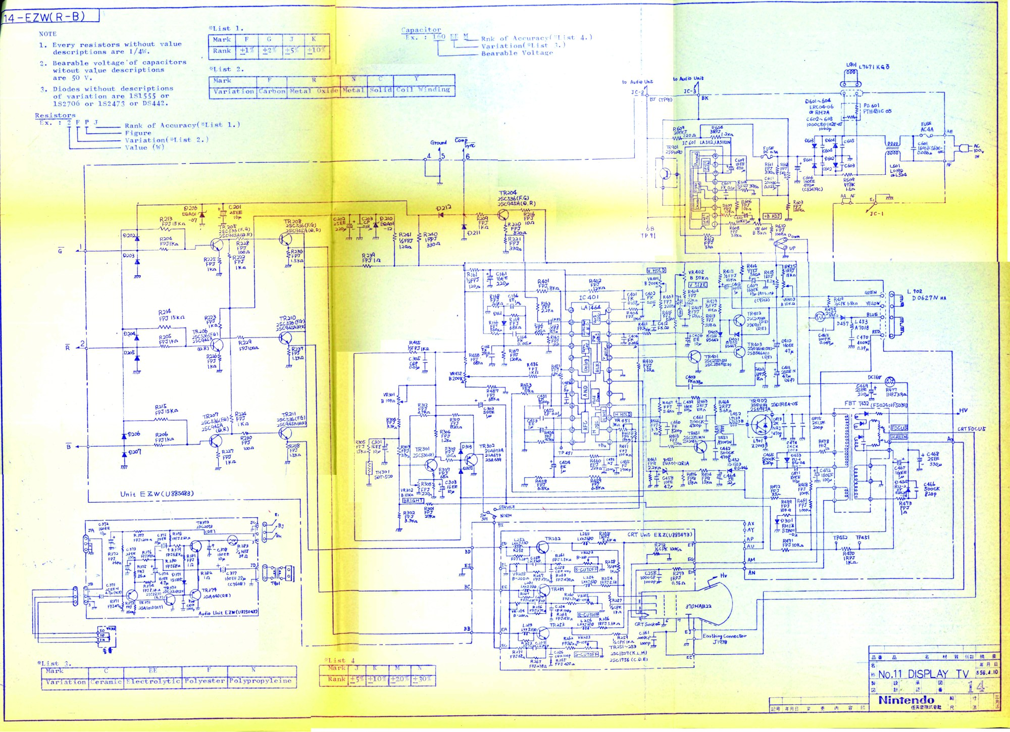 hight resolution of sanyo tv diagram wiring diagram data today sanyo schematic diagram