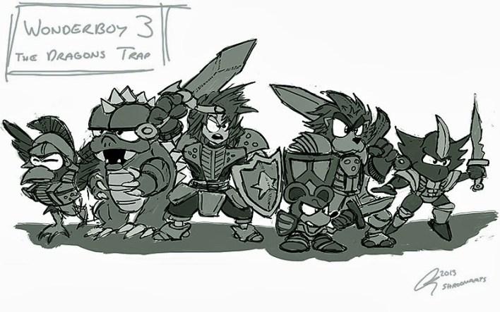 Wonder Boy - Dragons Trap Art 02