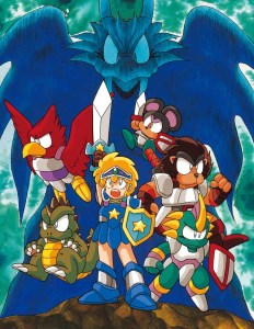 Wonder Boy - Dragons Trap Art