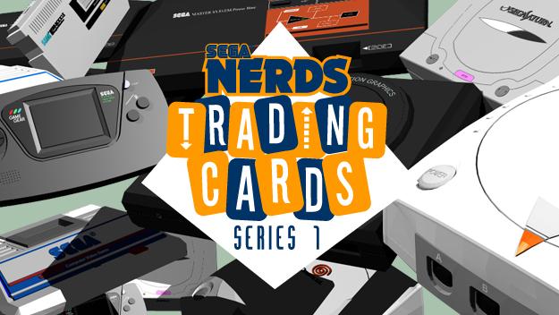 SEGA Nerds Trading Cards series 1
