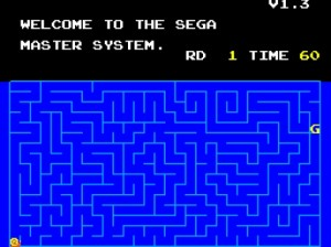 """Unfortunately, the book doesn't cover """"Snail Maze,"""" a simplistic game hidden within the Master System 1 which, as you can clearly see, is the canonical prequel to the Phantasy Star series."""