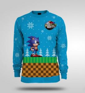 The original knitted sweater pictured here.